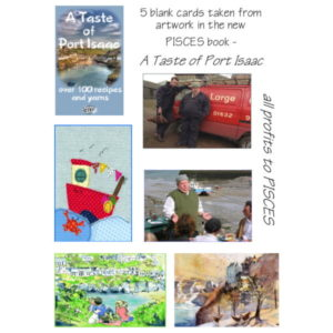 A Taste of Port Isaac Notecards