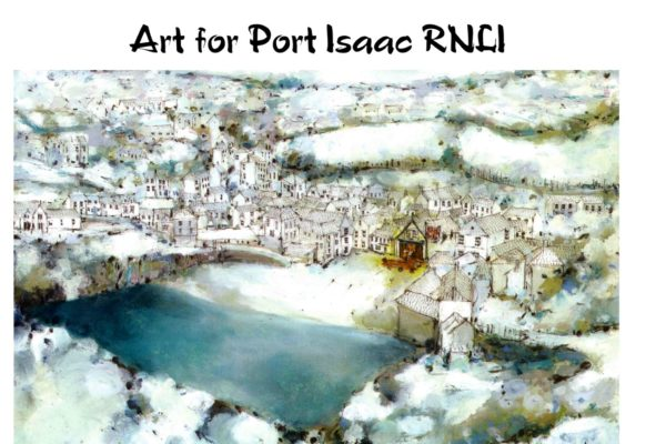 Art for Port Isaac RNLI - Kate Childs