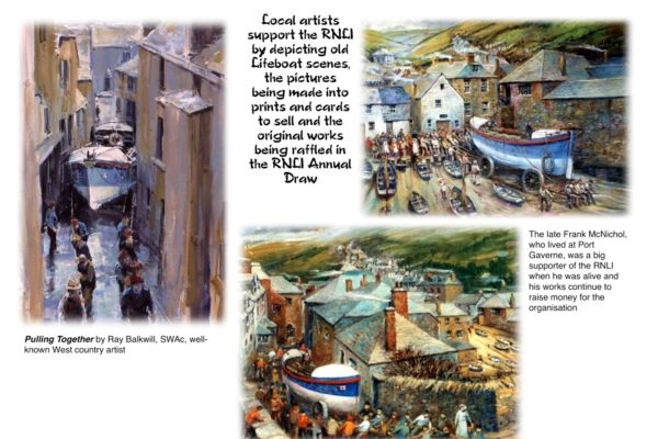 Art for Port Isaac RNLI - Local Artists