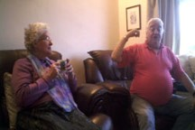 Janet Chadband and Dennis Knight - Sundays were special