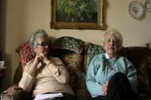 Joan Murray and Yvonne Cleave - Ernest Clee's class