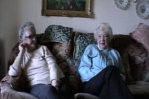 Joan Murray and Yvonne Cleave - Leaving School