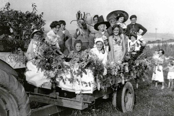 1950s Carnival Float