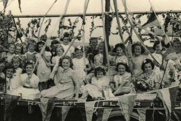 1952 Carnival Float