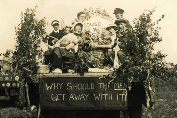 1955 Port Isaac Carnival Float - Housewive's Strike