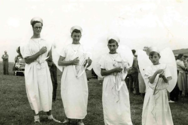 1955 Port Isaac Carnival - The Angelic Band