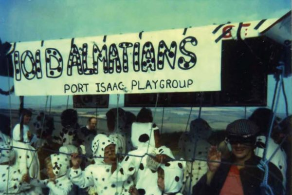 1981/82 Port Isaac Playgroup's Carnival Entry