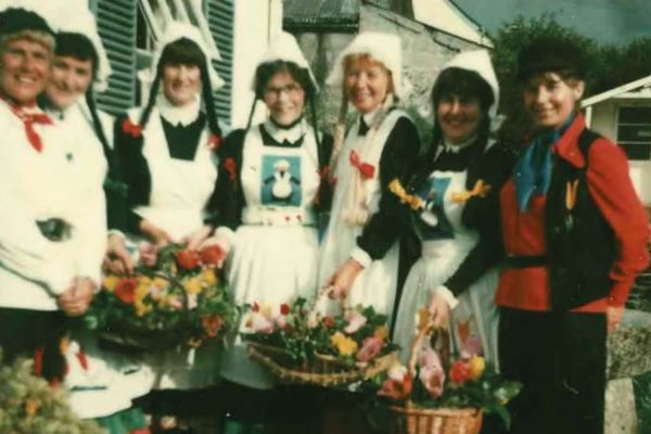 1990s Carnival Entry, The Dutch Girls
