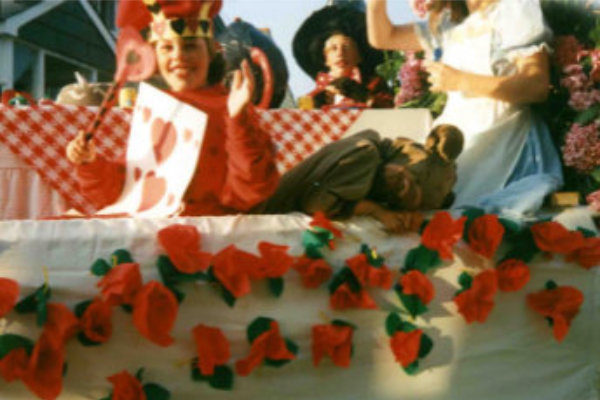 1991 Carnival Entry, The Mad Hatter's Tea Party