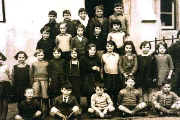 A 1930s class at Port Isaac School