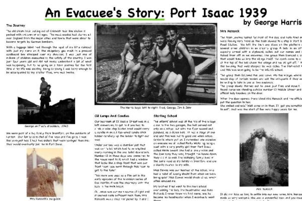 An Evacuees Story