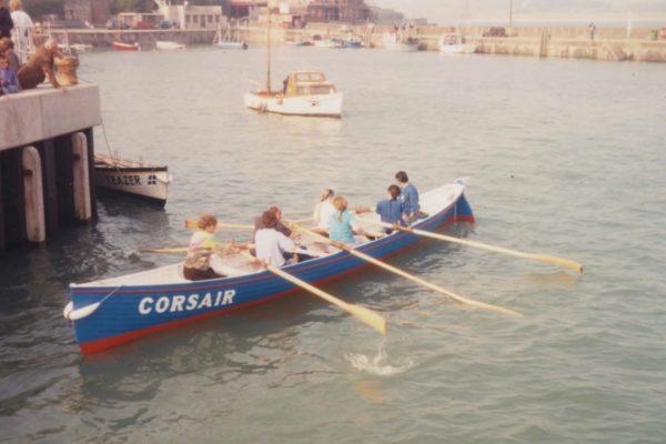 Corsair's first race