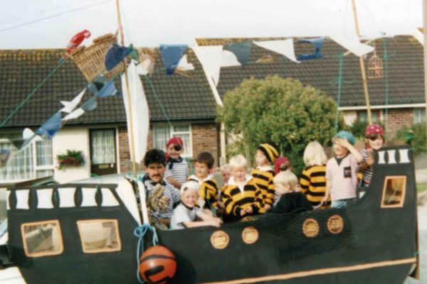 Early 1990s Port Isaac Carnival
