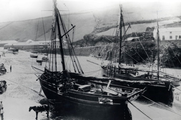 Fishing Boats at Port Gaverne
