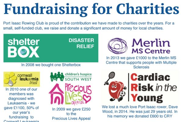 Gig club raising funds for other Charities