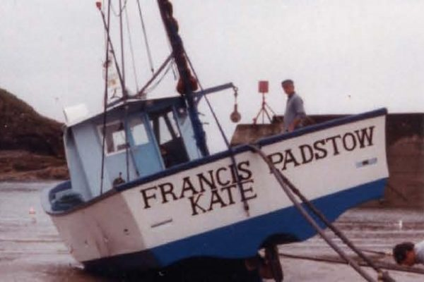 Jack & Peter's boat, the Francis Kate