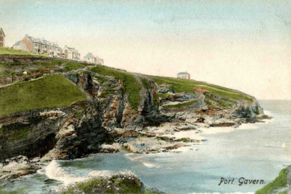 Port Gaverne; the old pilchard fishing hamlet