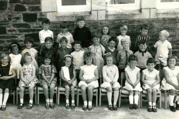 Port Isaac School 1969