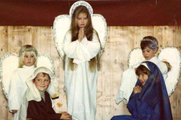 Port Isaac School, Nativity Play, 1980