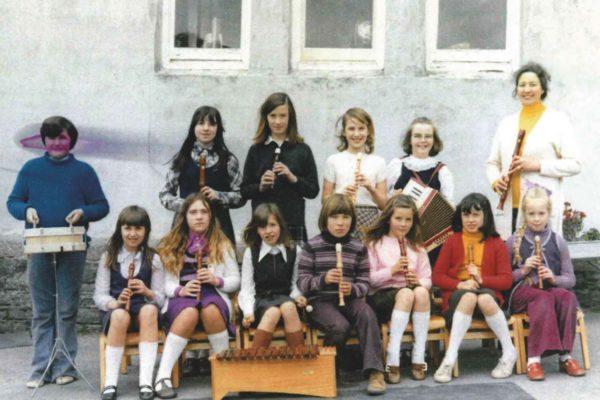 Port Isaac School Recorder Group 1974