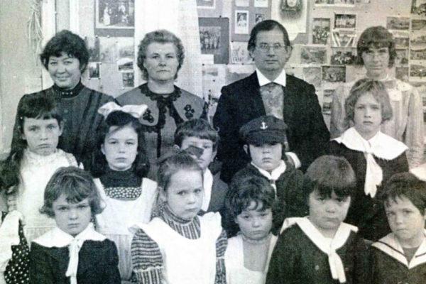 Port Isaac School centenary celebrations - February 1978