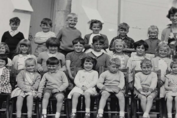 Port Isaac School in the 1930s