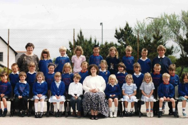 Port Isaac School infants, 1995