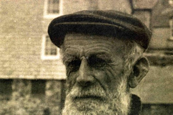 Port Isaac fisherman, Jack Glover in the 1940s