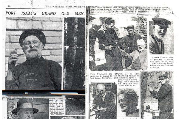Port Isaac's grand old men