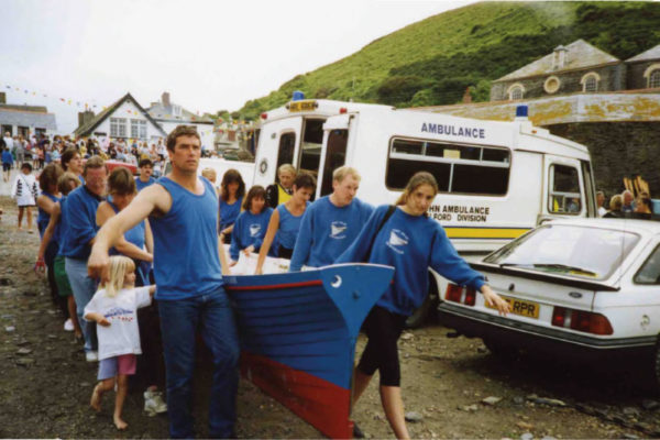 The first Port Isaac Gig day - 1991