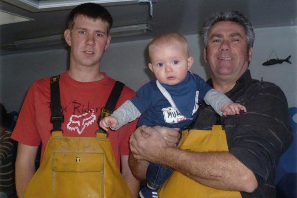 Tom Brown, fifth generation fisherman