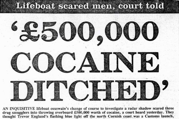 £500,000 Cocaine Ditched