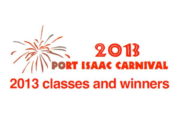 2013 Carnival Winners