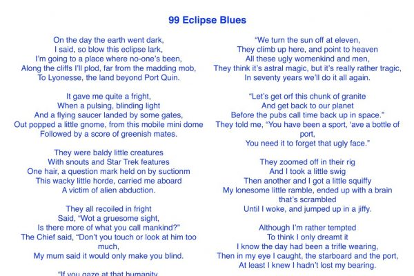 99 Eclipse Blues