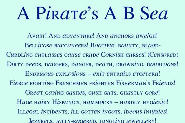 A Pirate's A B Sea