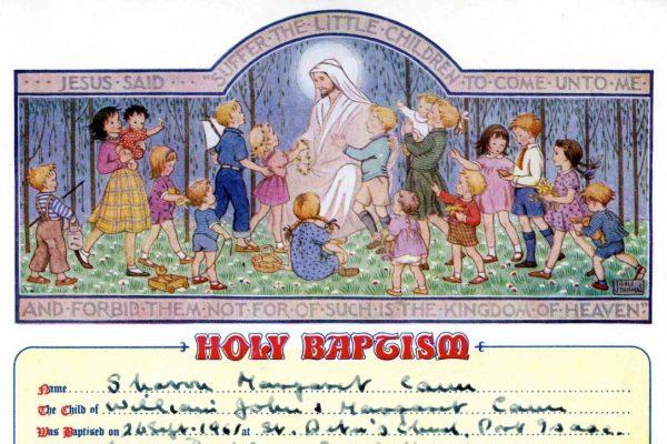 Baptism of Sharron Cann