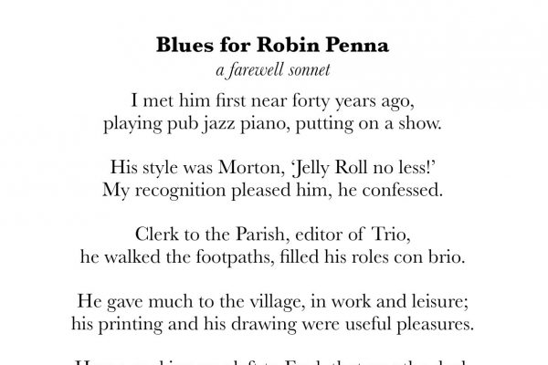 Blues for Robin Penna