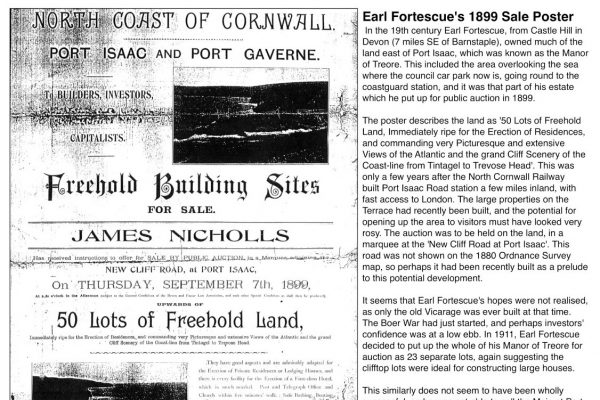 Building sites land sale in Port Gaverne
