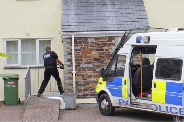 Cannabis raid at Port Gaverne - June 2012