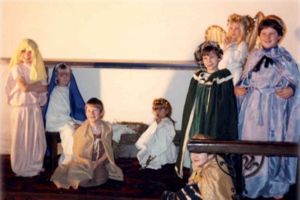 Christmas Nativity in St Peter's Church, 1969