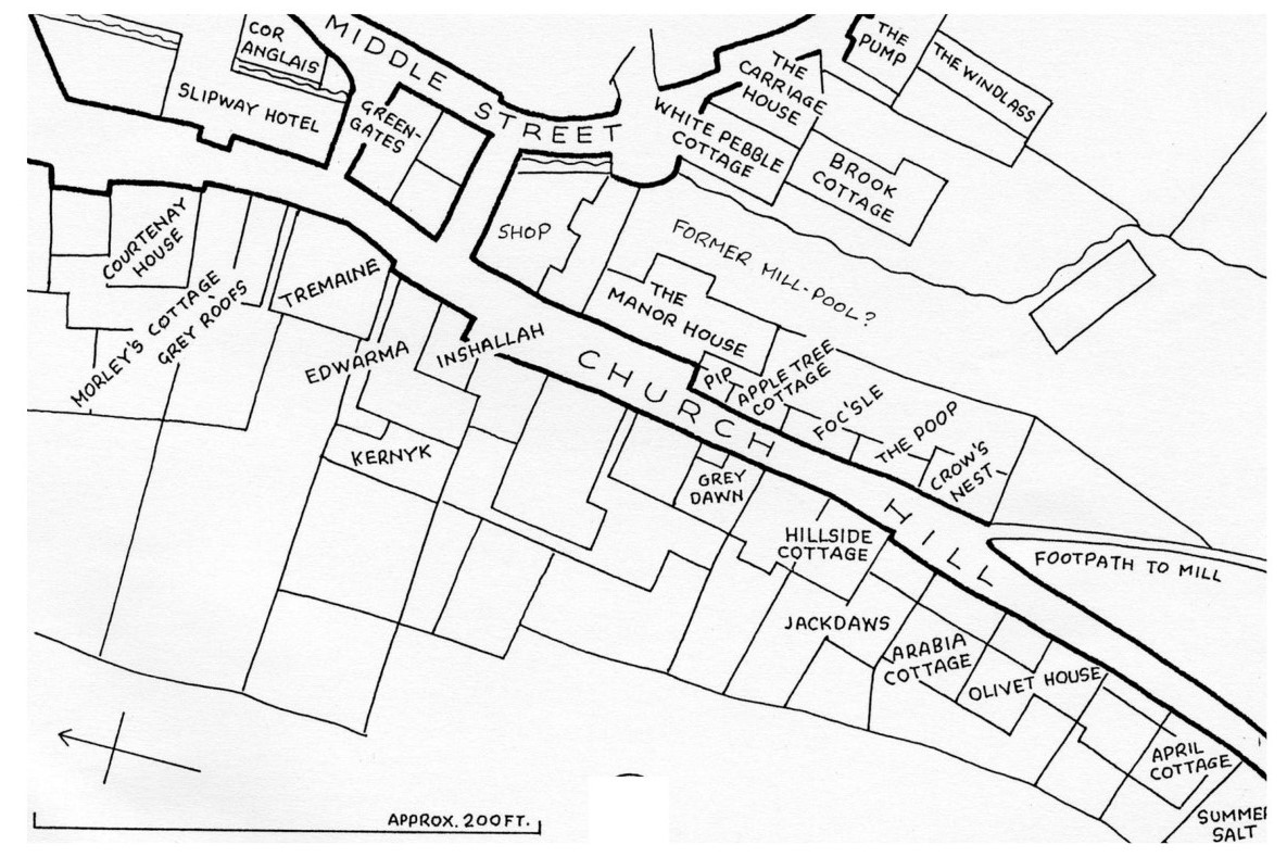 Church Hill Middle Street map