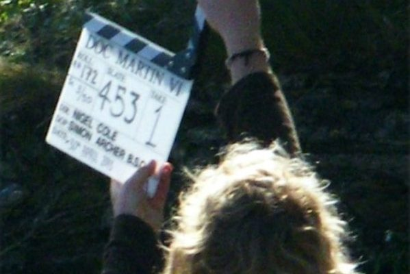Doc Martin filming, May 2013