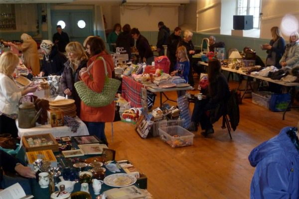 First Village Hall Boot Sale & Breakfast, January 2013
