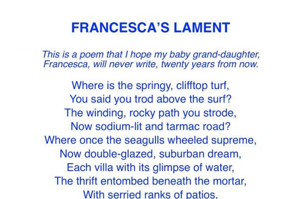 Francesca's Lament