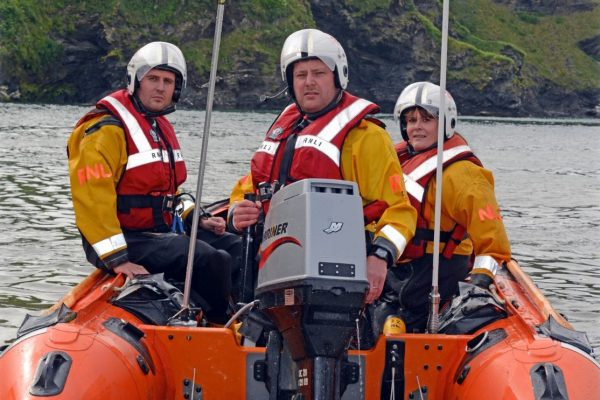 Galantry Medals for RNLI crew members