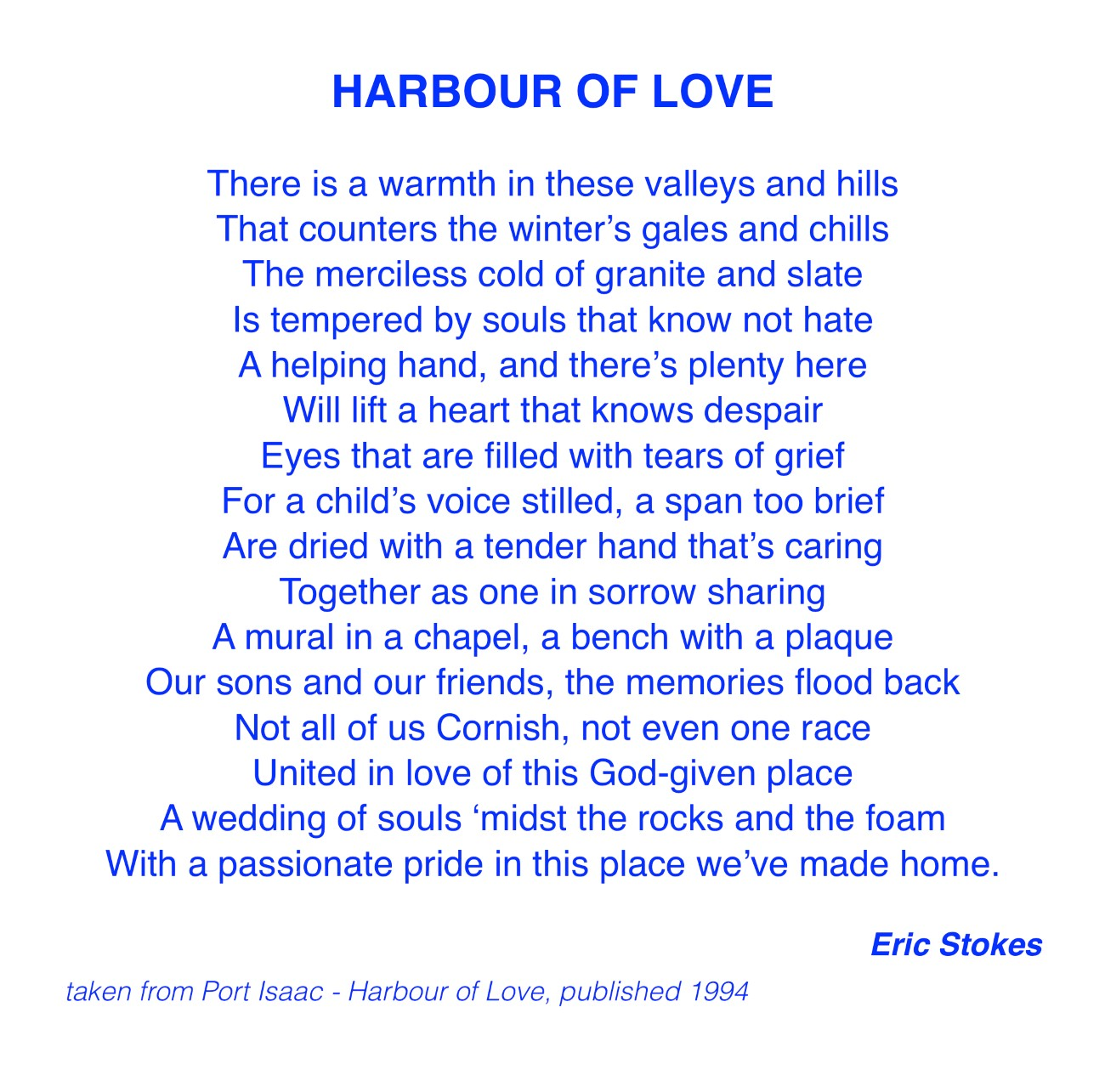 Harbour of Love