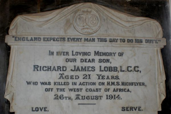 In memory of Richard Lobb