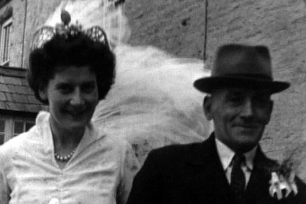 Marie Lakeman goes to her wedding, Spring 1944
