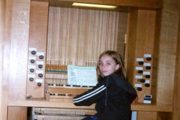 New organ at St Endelion Church