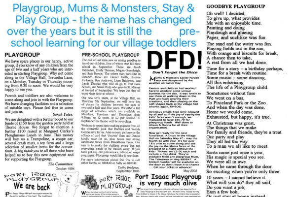 Playgroup, Mums & Monsters, Stay & Play Group